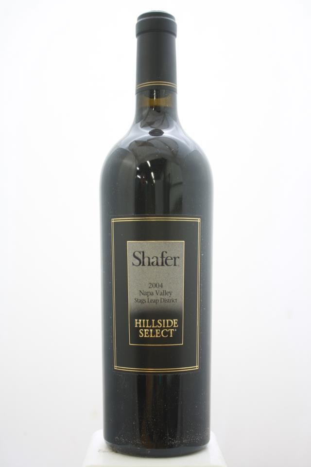 Shafer Cabernet Sauvignon Hillside Select 2004