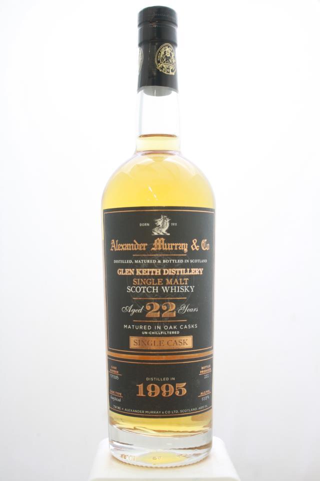 Alexander Murray & Co Single Malt Scotch Whisky Single Cask 22-Years-Old 1995
