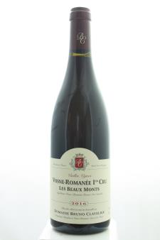 Bruno Clavelier Vosne-Romanée Les Beaux Monts Vieilles Vignes 2016