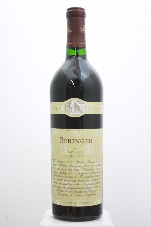 Beringer Vineyards Cabernet Sauvignon Private Reserve 2001