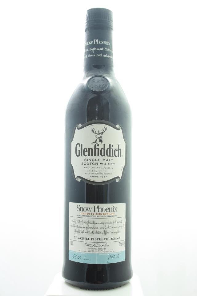 GlenFiddich Single Malt Scotch Whisky Snow Phoenix Limited Edition NV