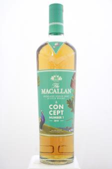 The Macallan Highland Single Malt Scotch Whisky Concept Number 1 2018
