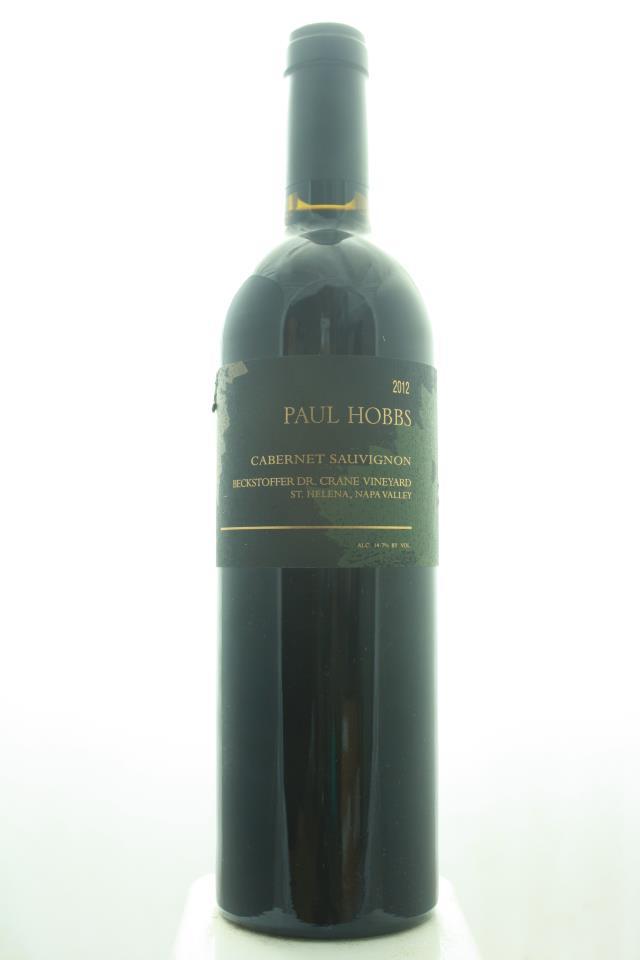 Paul Hobbs Cabernet Sauvignon Beckstoffer Dr. Crane Vineyard 2012