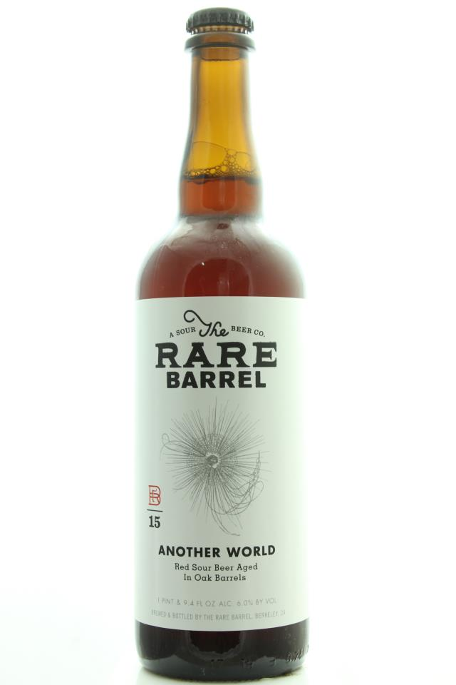 The Rare Barrel Another World Red Sour Beer Aged in Oak Barrels 2015