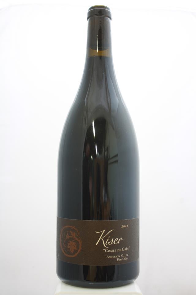 Copain Pinot Noir Kiser combe de Gres 2012