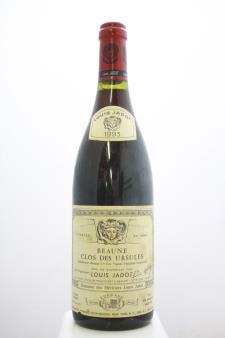 Louis Jadot (Domaine des Héritiers Louis Jadot) Beaune Clos des Ursules 1993