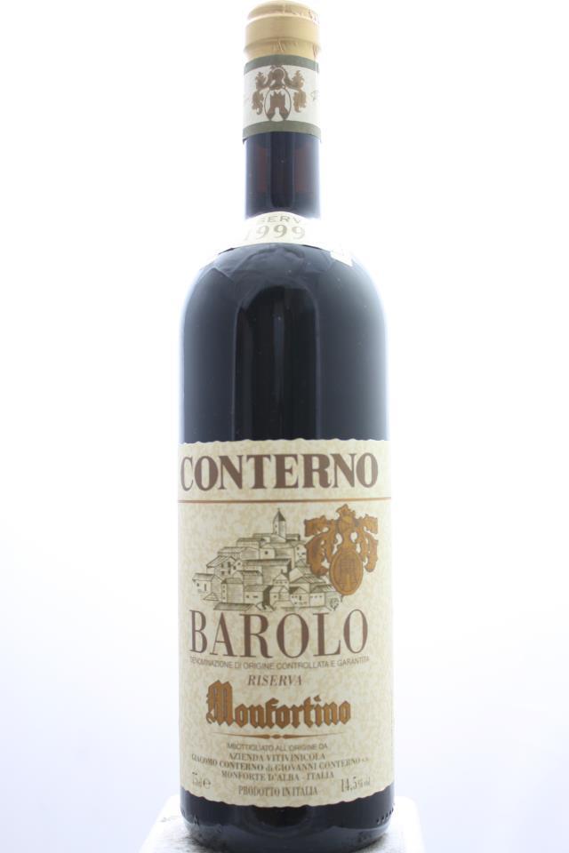 Giacomo Conterno Barolo Riserva Monfortino 1999