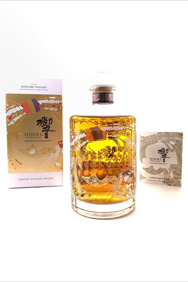 Suntory Hibiki Blended Japanese Whisky Japanese Harmony 30th Anniversary Limited Edition Design NV