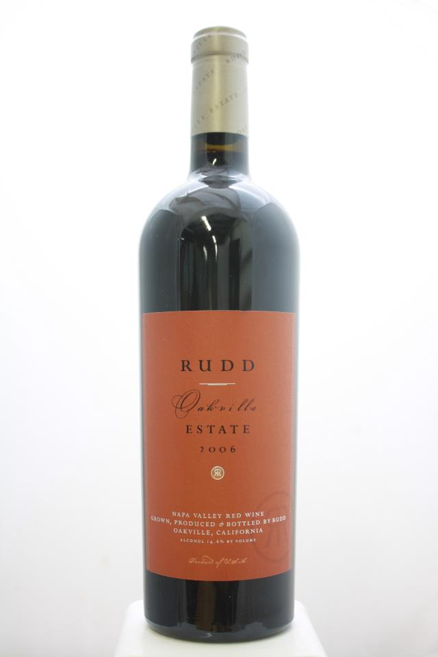 Rudd Estate Proprietary Red Oakville 2006