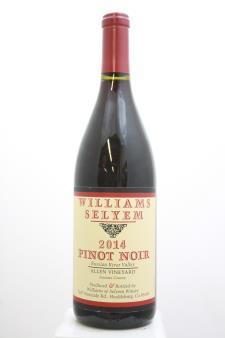 Williams Selyem Pinot Noir Allen Vineyard 2014