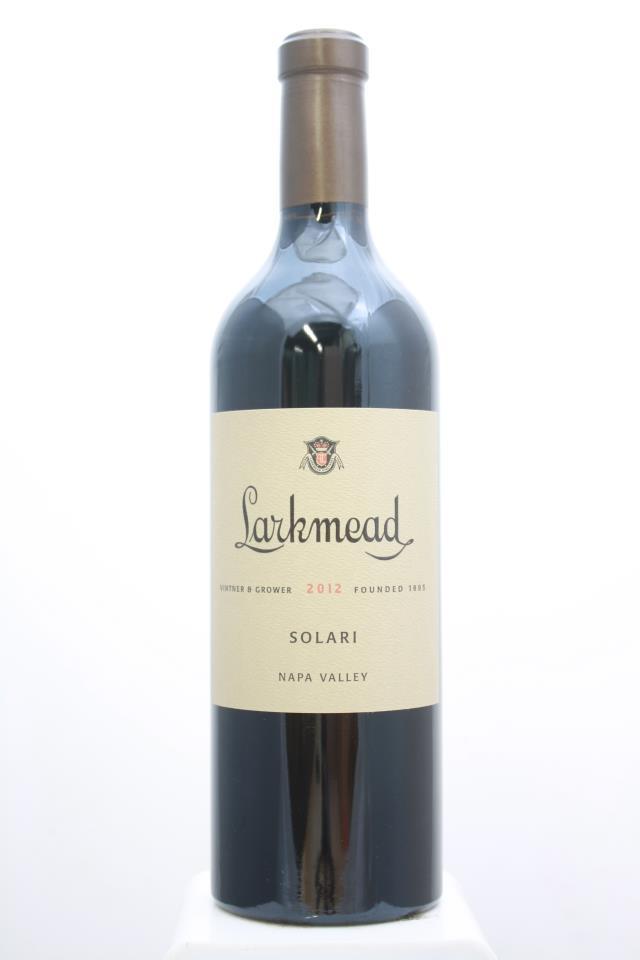 Larkmead Cabernet Sauvignon Solari 2012