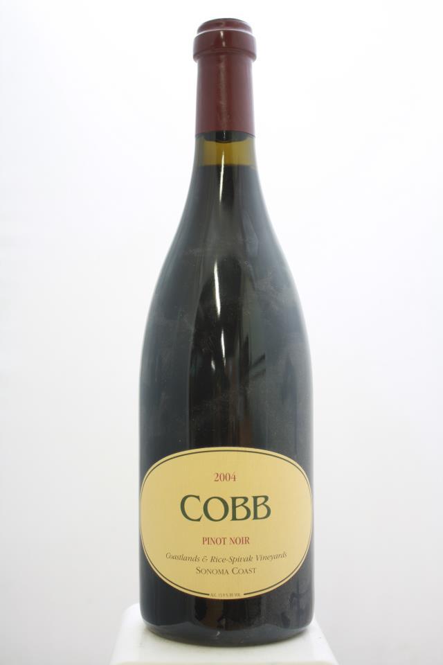 Cobb Pinot Noir Rice-Spivak Vineyard 2004
