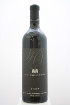 St. Helena Winery Cabernet Sauvignon Estate Sympa 2015
