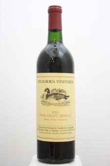 Duckhorn Merlot Three Palms 1985