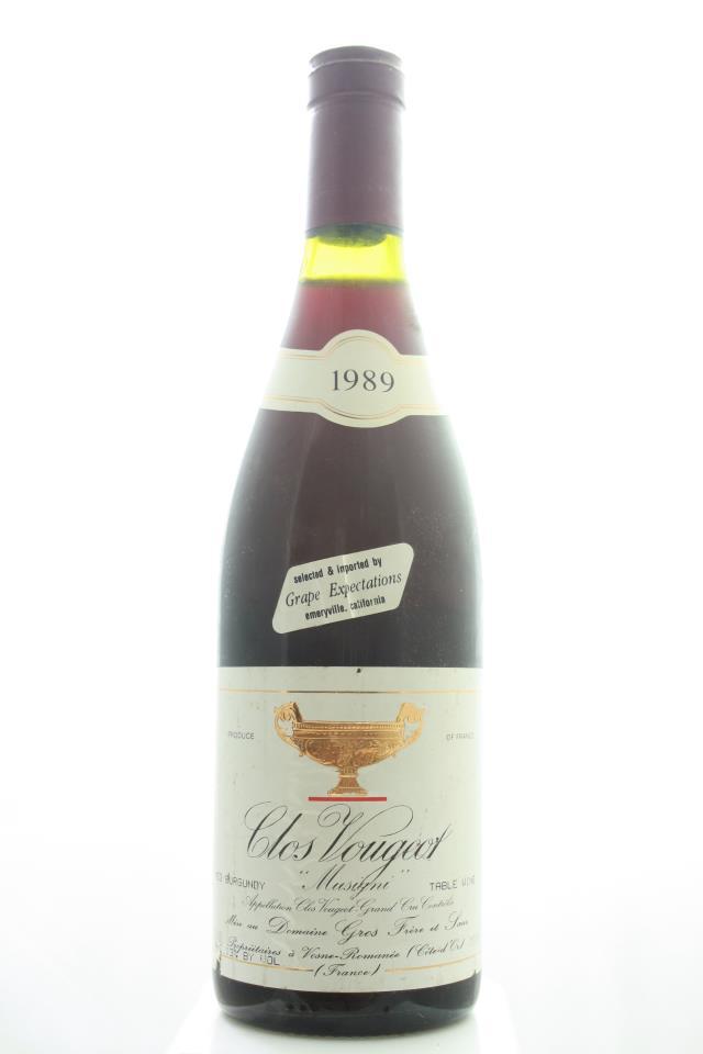Gros Frère et Sœur Clos de Vougeot Musigni 1989
