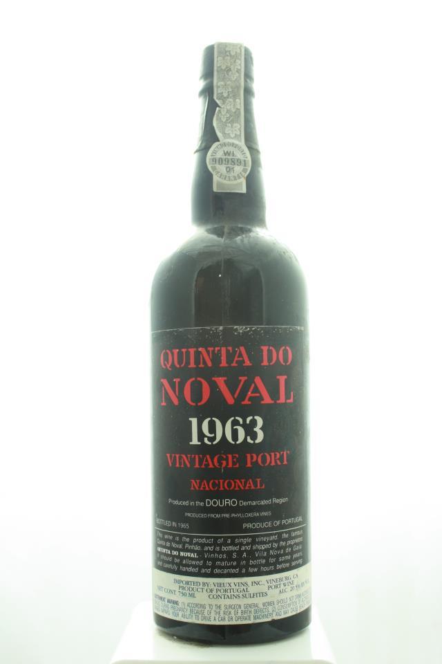 Quinta do Noval Vintage Porto Nacional 1963
