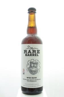 The Rare Barrel Wise Guise Red Sour Beer Aged in Oak Barrels with Raspberries 2016