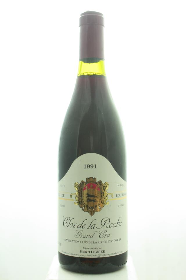 Hubert Lignier Clos de la Roche 1991