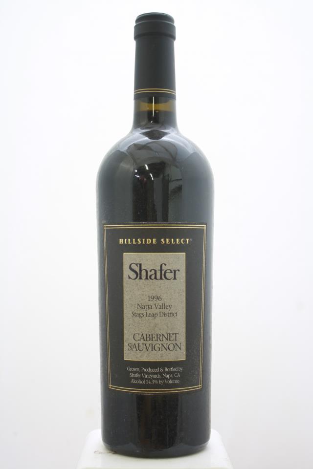 Shafer Cabernet Sauvignon Hillside Select 1996