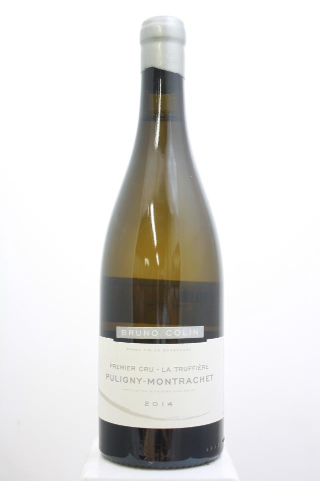 Bruno Colin Puligny-Montrachet La Truffière 2014