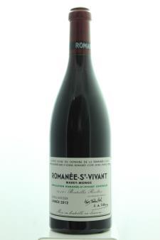 Domaine de la Romanée-Conti Romanée-Saint-Vivant Marey-Monge 2012