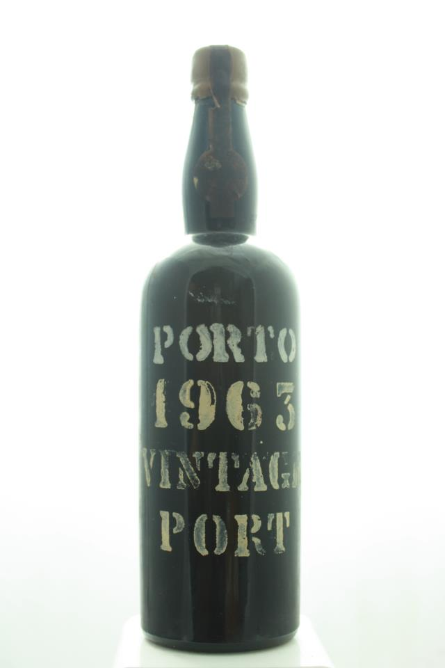 The Douro Wine Shippers & Growers Association Vintage Porto 1963