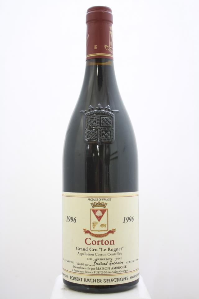 Ambroise Corton Les Rognets 1996