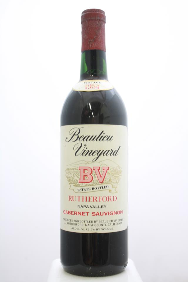 BV Cabernet Sauvignon Rutherford 1984