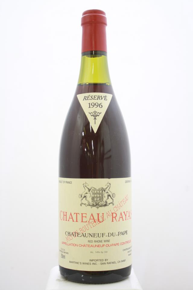 Château Rayas Châteauneuf-du-Pape Réservé 1996