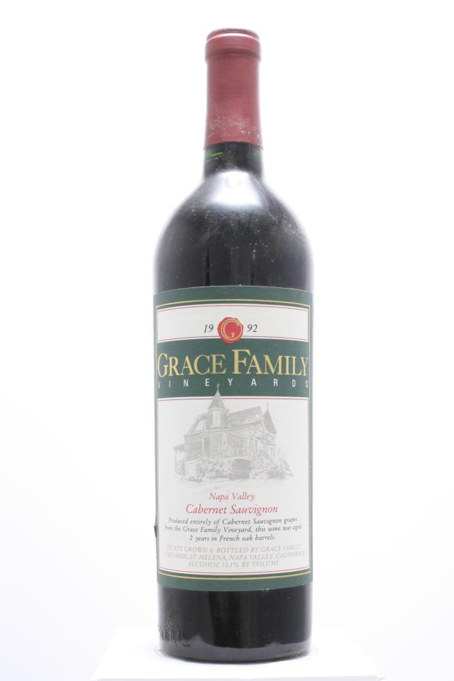 Grace Family Vineyards Cabernet Sauvignon Estate 1992