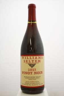 Williams Selyem Pinot Noir Russian River Valley 2013