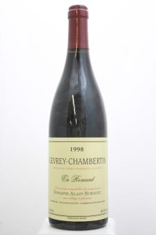 Alain Burguet Gevrey-Chambertin En Reniard 1998