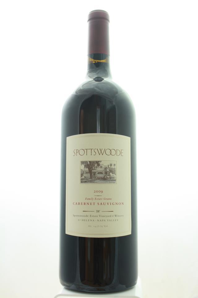 Spottswoode Cabernet Sauvignon Estate 2009