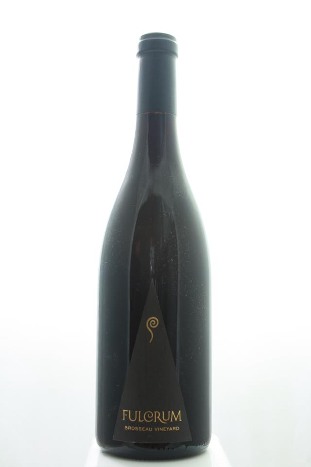 Fulcrum Pinot Noir Brosseau Vineyard 2016