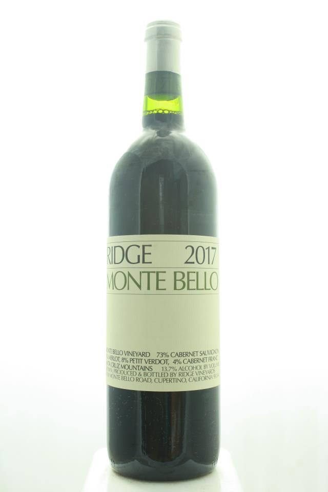Ridge Vineyards Monte Bello 2017