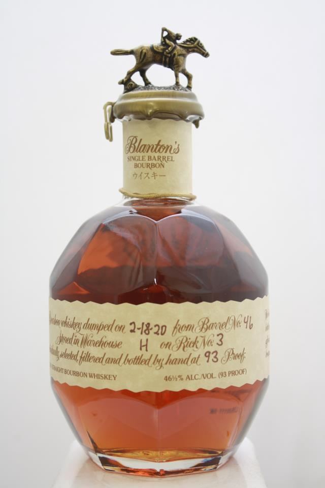 Blanton's Original Single Barrel Bourbon Whisky Takara Red Edition NV