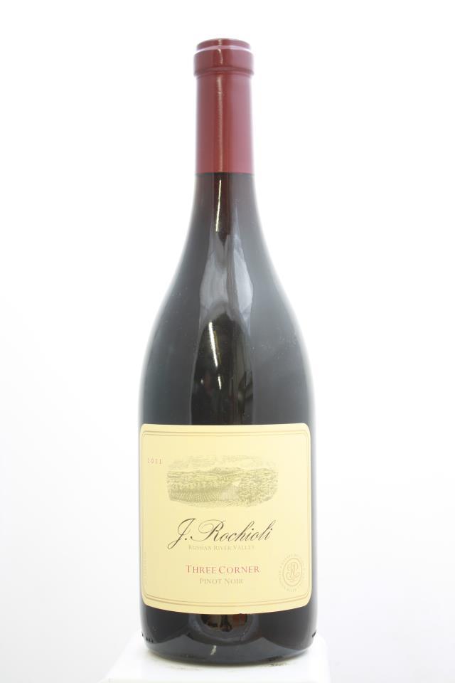 J. Rochioli Pinot Noir Estate Three Corner 2011