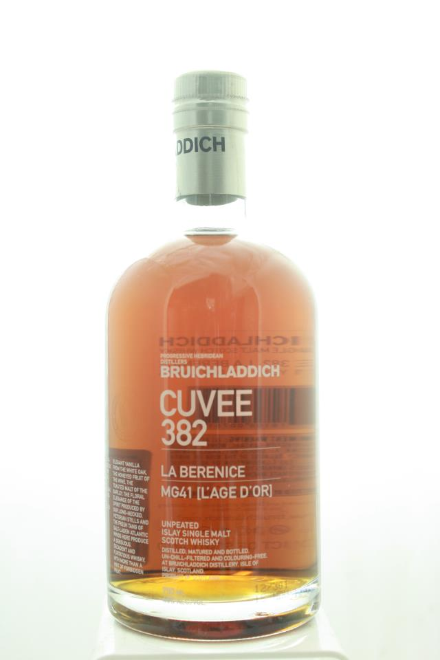 Bruichladdich Distillery Unpeated Islay Single Malt Scotch Whisky Cuvee 382 La Berenice MG41 [L'Age D'Or] 21-Years-Old NV