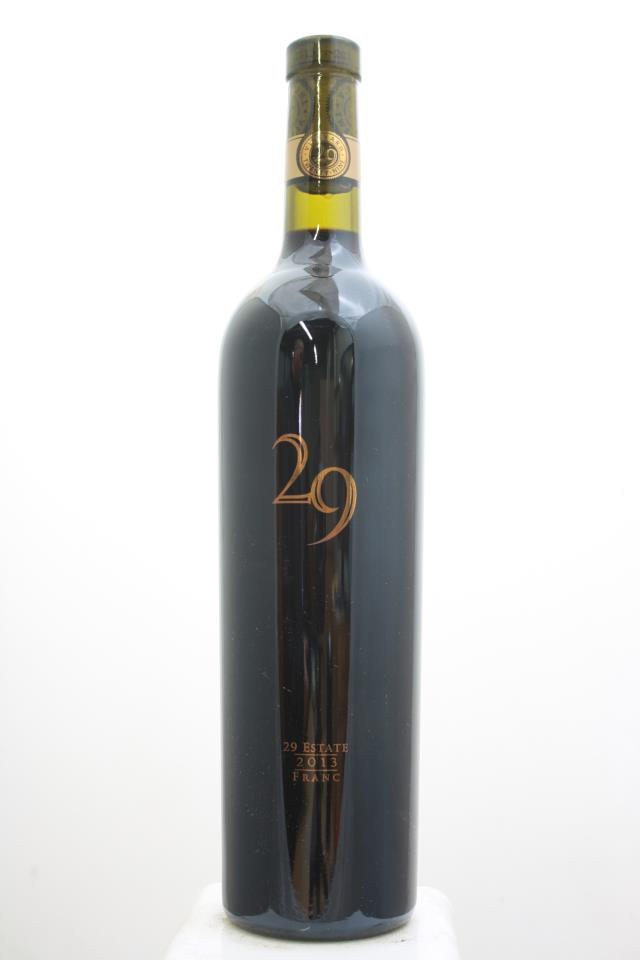 Vineyard 29 Cabernet Franc 29 Estate 2013