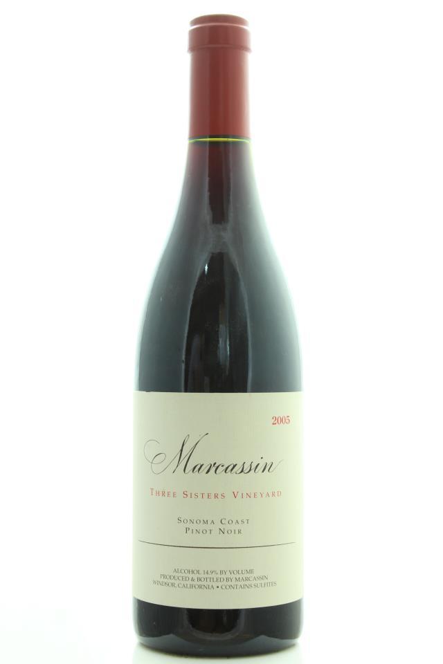 Marcassin Pinot Noir Three Sisters Vineyard 2005