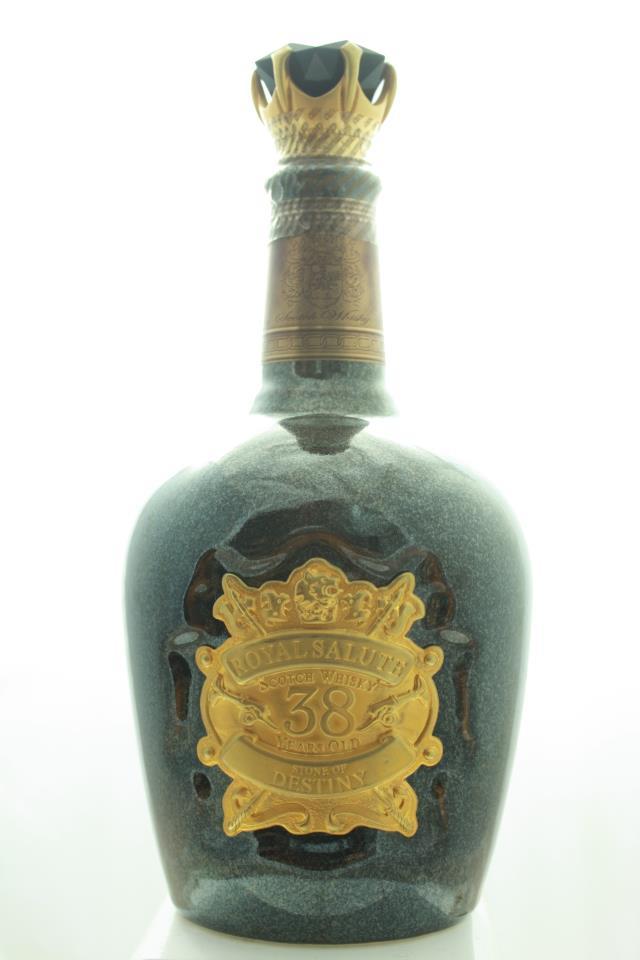 Chivas Blended Scotch Whisky Royal Salute Stone Destiny 38-Years-Old NV