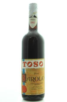 Toso Barolo 1967