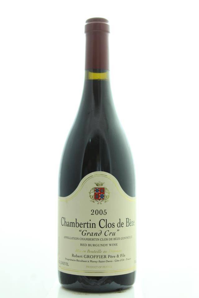 Robert Groffier Chambertin Clos de Bèze 2005