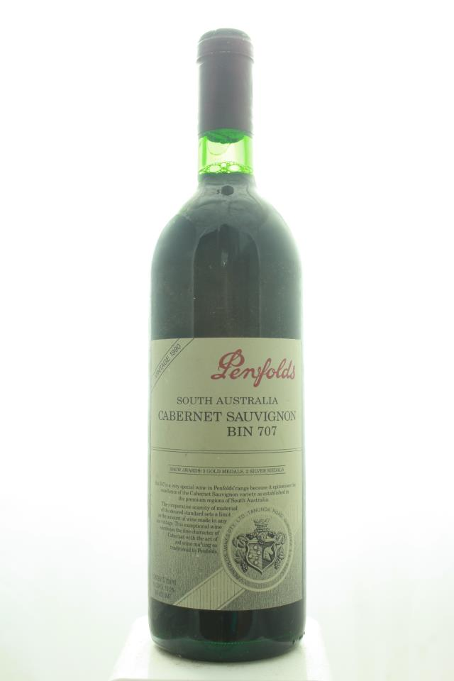 Penfolds Cabernet Sauvignon Bin 707 1990