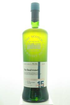 The Scotch Malt Whisky Society Single Malt Scotch Whisky Single Cask The Final Trawl 15-Years-Old 2002