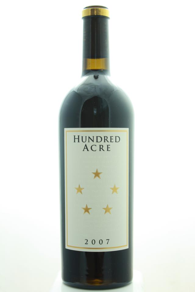 Hundred Acre Cabernet Sauvignon Estate Ark Vineyard 2007