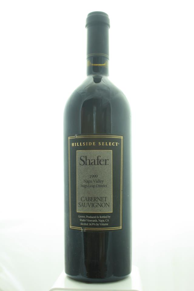 Shafer Cabernet Sauvignon Hillside Select 1999
