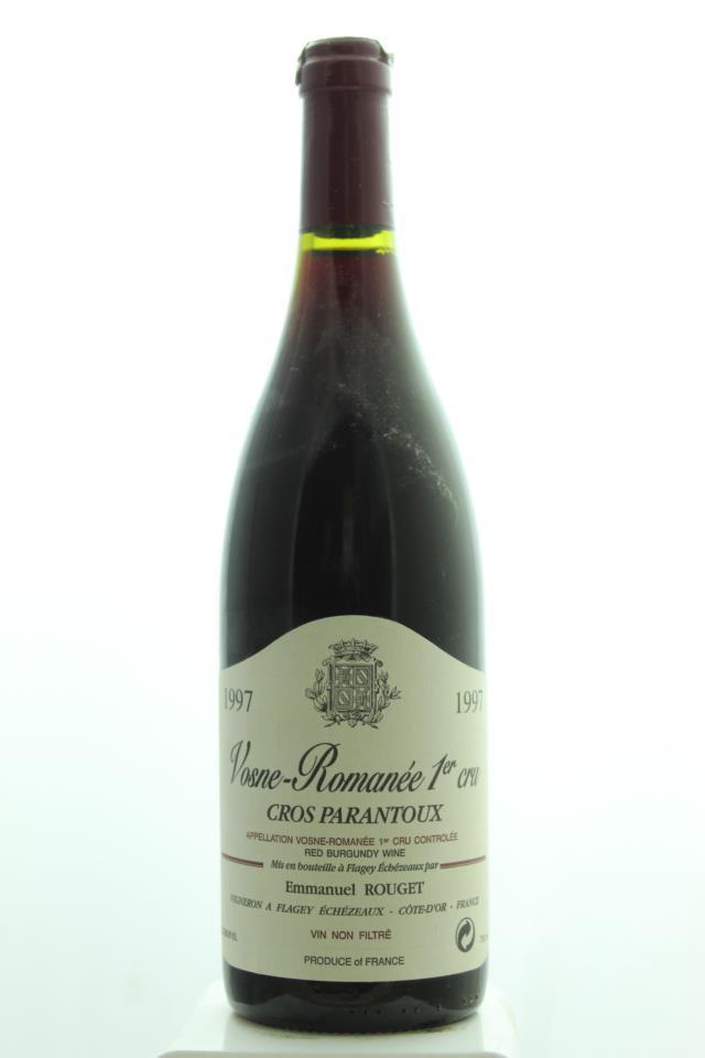 Emmanuel Rouget Vosne-Romanée Cros Parantoux 1997