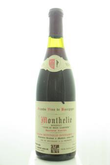 Monthelie Douhairet Monthelie Clos Le Meix Garnier 1996