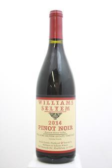 Williams Selyem Pinot Noir Williams Selyem Estate Vineyard 2014